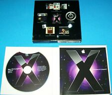 APPLE MAC OS X 10.5.1 RETAIL LEOPARD INSTALL DVD WITH BOOKLET MB427Z/A