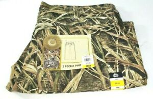 Mossy Oak Men's 5 Pocket Camo Hunting Pant - Shadow Grass Blades Size 36/32