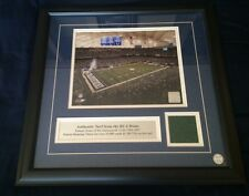 Indianapolis Colts Game Used Turf Display from RCA Dome,1997-2004