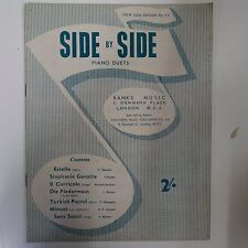 piano duet SIDE BY SIDE, New Gem Series 73