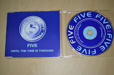 Five ‎– Until The Time Is Through. CD-Single promo (CP1710)