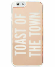 "KATE SPADE Hybrid Snap on case, Rose gold ""TOAST OF THE TOWN"" Iphone 6-NIB $40"