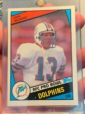 New Listing1984 Topps Dan Marino Rookie Card #123 Miami Dolphins!