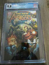 New Avengers #27 1:100 Yu Variant 1st Clint Barton as Ronin CGC 9.8 NM / MT 2007