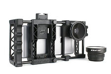 Beastgrip Pro + Wide-Angle and Fisheye Lenses. Universal Smartphone Camera Rig.