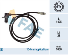 Front ABS Sensor 78067 for PEUGEOT BOXER Box 2.0 HDI i 2.5 D 4 Wheel