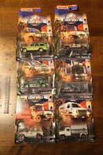 2018 MATCHBOX COMPLETE SET OF SIX (6) DIE CAST JURASSIC WORLD LEGACY COLLECTION