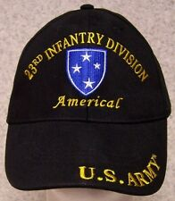 Embroidered Baseball Cap Military Army 23rd Infantry Division NEW 1 size fit all