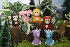 Iwako Japanese Erasers / Jungle Animals 7 pcs