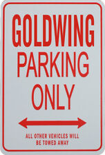 GOLDWING - PARKING ONLY SIGN