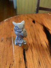 "Pewter Figurine: Owl 1"" Bea-Line P40"
