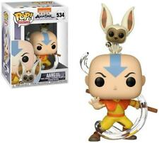Funko Pop! Avatar: Last Airbender AANG w/ MOMO #534 Vinyl Figure NEW & IN STOCK