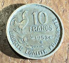PIECE DE 10 FRANCS GUIRAUD 1953 B (159)