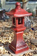 "Pagoda Oriental Concrete Lantern Japanese Garden Yard Cement Art "" New Model """