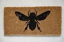New Creative Co-op Da6351 Rectangle Coir Doormat with Bee Image Free2Dayship