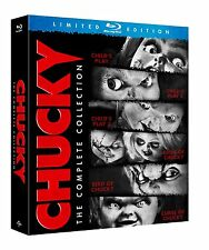 CHUCKY COMPLETE COLLECTION CHILD'S PLAY 1 2 3 4 5 6 BLU-RAY SET Horror Film Lot