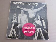 THE MAMA'S AND THE PAPA'S..45 TOURS 4 TITRES ..MONDAY MONDAY + 3
