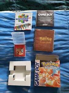 Pokemon Versione Rossa Rosso Game Boy