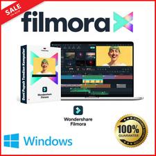 Wondershare Filmora 10 X +Effect Pack ✅Full Version Portable ✅ Easy Setup ❗🔥