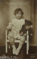"""Kinder, Spielzeug, Teddy, Prinz Alexander Ferdinand""  1910  ♥  (15296)"