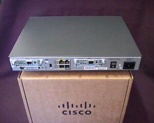 CISCO1841-HSEC/K9 Router AdvIP 12.4 IOS 256D/64F Security Bundle AIM-VPN/SSL-1