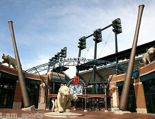 COMERICA PARK HOME OF DETROIT TIGERS BASEBALL 8x10 PHOTO