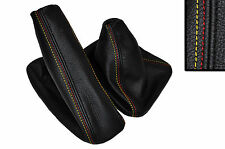 GERMAN FLAG STITCH FITS BMW E28 E24 E60 E61 E90 E91 E87 E81 GAITERS LEATHER