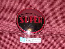 49 BUICK SUPER FRONT BUMPER EMBLEM NEW 1949 BADGE MOLDING DISK PLATE