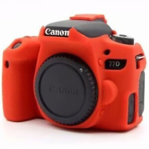 For Canon EOS 650DD 5D2 5D3 5D4 Silicone Rubber Protective Body Cover Case Skin