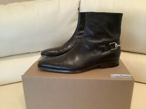 100% Authentic brown Gucci ankle boots Gucci size 9.5 us size 10.5 lightly worn