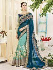 Indian Designer Party Wear Saree Sari Bollywood Bridal Wedding Pakistani Saree