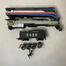 C121- Mixed Lot Of HO Scale Steam Locomotive Parts