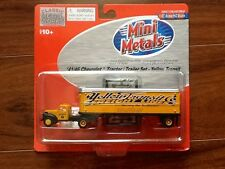 CLASSIC METAL WORKS 1/87 HO 41/46 CHEVROLET TRACTOR W/ TRAILER YELLOW #31159 F/S