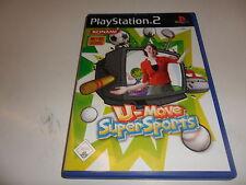 Playstation 2 ps 2 Eyetoy u-Move super sports
