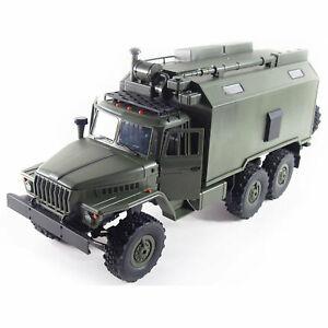 Amewi Ural B36 Militär LKW 6WD RTR 1:16, grün 22371