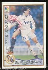 #10. FERNANDO SANZ - Real Madrid CF  1997/1998 - CARD Mundicromo