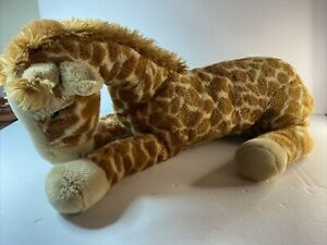 "FAO Schwarz Plush Giraffe Toys R' Us Geoffrey Large Stuffed Animal 21"" Lifelike"