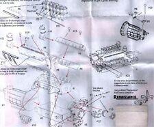kit 1/24 MOTORE x FERRARI 250 TESTAROSSA 1959/60 in RESINA   Renaissance 24ENG1