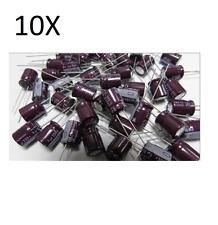 10 ELEKTROLYTKONDENSATOR 1,5uF 350V 105° schaltungen cs
