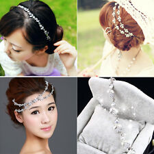 Lady's Elegant Headband Crystal Alloy Beauty Head Chain Jewelry Hair band New