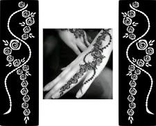 Popular Temporary Tattoo #Henna Mehndi Glitter Stencil Sticker Body Art Vinyl