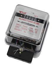 1-Phasen 230V 10A Wechselstromzähler Stromzähler Zwischenzähler Zähler