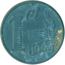 COIN / THE NETHERLANDS / 1 CENT 1942  #WT6349