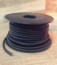 Black Cloth Covered Cord, 2 Conductor Antique Style Round Cloth Wire,