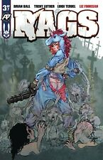 RAGS 3 EXPOSED VARIANT NM ANTARCTIC PRESS ZOMBIES HOT BOOK PRE-SALE 11/28
