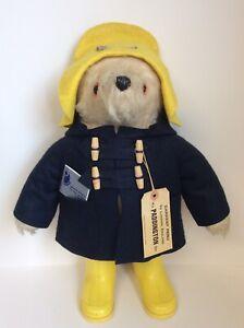 Gabrielle Designs PADDINGTON BEAR Plush Toy with Tag & Care Card HA