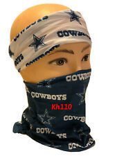 Dallas Cowboys Nfl Face Mask Bandana Balaclava Headwear Neck Scarf