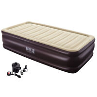 PAVILLO INFLATABLE CORN TRIM AIR BED ELECTRIC PUMP BESTWAY CAMPING SLEEPING GEAR