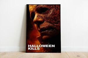 Halloween Kills Movie Print Poster Wall Art A4 A2 Maxi Films 2021 New - 1939