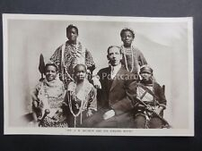 More details for african song lectures, portrait of mr j. h. balmer and his singing boys c1910 rp